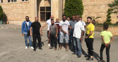 اعتصام لمياومي بلدية الميناء احتجاجا على عدم قبض رواتبهم image