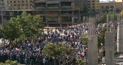 تظاهرة 6-6: شغب ومواجهات عنيفة في وسط بيروت image