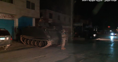 بالصور: عمليات دعم وتوقيف للجيش في بعلبك image