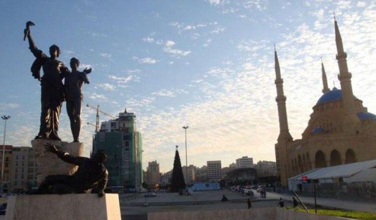 تحضيرات أمنية في وسط بيروت image