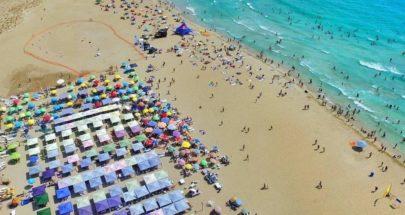 """اللبنانيون على الشواطيء... """"الله الحامي"""" image"""