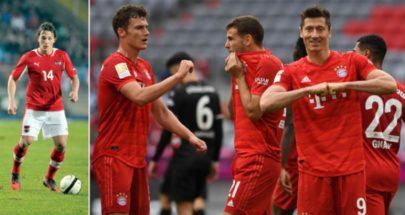 بايرن يصطدم بليفركوزن في اختبار صعب للاقتراب من لقب الدوري الألماني image