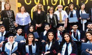 """تخريج طلاب """"الحريري الثانية"""" برعاية نازك رفيق الحريري في احتفال مختصر image"""