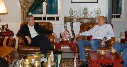 جنبلاط عرض مع السفير البريطاني التطورات image