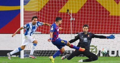"""حالتا طرد في 3 دقائق.. برشلونة يمر بصعوبة من """"فخ الجيران"""" image"""