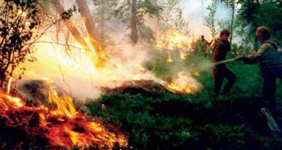 روسيا استعانت بالغيوم الاصطناعية لمحاربة حرائق الغابات في سيبيريا image