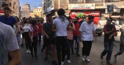 مسيرة مطلبية جابت شوارع طرابلس image