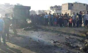 جرحى جراء إنفجار سيارة مفخخة في مدينة الباب السورية image