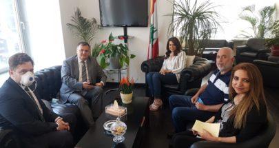 السفير البلغاري في وزارة المهجرين... دعم للمشاريع الانمائية؟ image