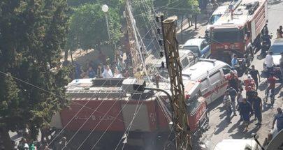 16 حالة اختناق جراء حريق داخل أحد المنازل في أبي سمرا image