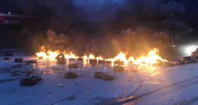 قطع طرقات واحتجاجات في مختلف المناطق رفضاً للأوضاع المُزرية image