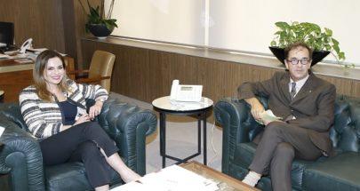 وزيرة الإعلام: نؤكد تمسكنا بالعلاقات اللبنانية الفرنسية image