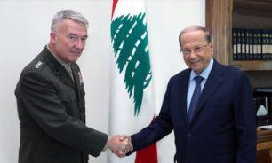ماكينزي: مستمرون بدعم الجيش اللبناني المدافع عن استقلال لبنان وسيادته image