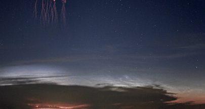 """ناسا تكشف عن """"عفاريت حمراء"""" في السماء تبدو وكأنها """"غزو فضائي""""! image"""