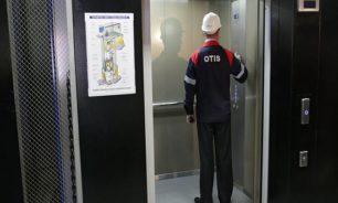 زر مصعد كهربائي ينقل فيروس كورونا إلى 71 شخصا! image
