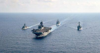 بيان مشترك لردع الصين من الولايات المتحدة وأستراليا واليابان image