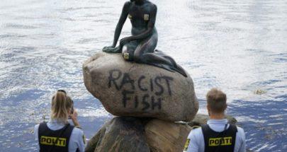 """اعتداء على """"الحورية الصغيرة"""" بالدنمارك بداعي العنصرية image"""