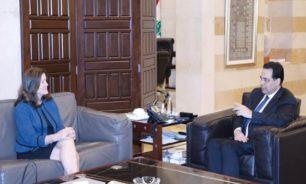 السفيرة الأميركية تصعّد ضد دياب... وتوصل له رسائل تهديد وتأنيب image