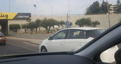 إغلاق مداخل القصر الجمهوري من جميع النواحي وزحمة سير على طريق الشام image
