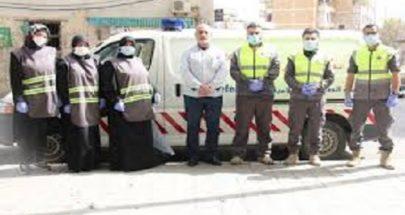 متطوعو الهيئة الصحية في حزب الله واصلوا نشاطات الوقاية من الفيروس image