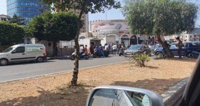 قطع الطريق أمام سراي طرابلس image