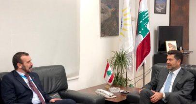 الملف النفطي بين غجر وسفير الجزائر في لبنان image