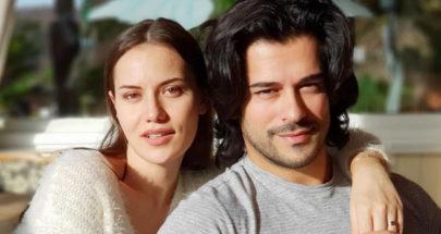 """بوراك أوزجيفيت يُغازل زوجته:""""لا توجد من تفوقها جمالا"""" image"""