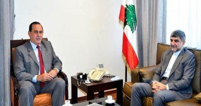 جولة السفير الايراني الوزارية.. ابحث عن الكهرباء والدواء image