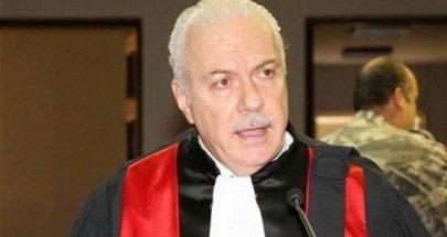 القاضي عبود يحدد موعد انتخاب قاضيين في الهيئة الوطنية لمكافحة الفساد image