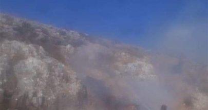 حريق كبير في خراج بلدة ميس الجبل ومناشدات للمساعدة image
