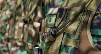 الجيش باشر توزيع مساعدة الـ400ألف ليرة في دار بلدية ببنين العبدة image