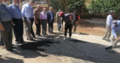 بلدية بعلبك أطلقت ورشة تأهيل الطرقات على نفقة حزب الله image