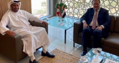سفير الامارات استقبل شقير... وبحث في الاوضاع الافتصادية image