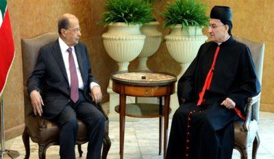 بعبدا وبكركي تتكاملان في التوجه الوطني image