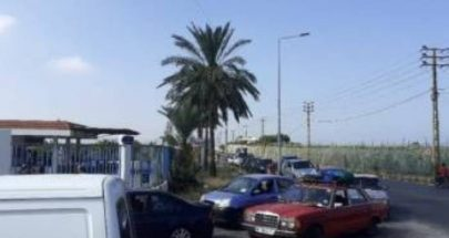 """""""طوابير"""" عند مداخل محطات تعبئة الغاز في جنوب الليطاني image"""