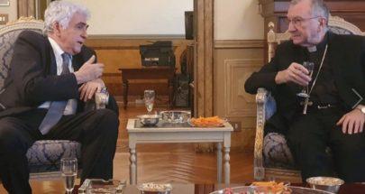 سفير لبنان في الفاتيكان أقام عشاء على شرف حتي image
