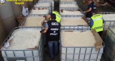 بعد مصادرة 84 مليون حبة كبتاغون في ايطاليا... ما علاقة الأسد وحزب الله؟ image