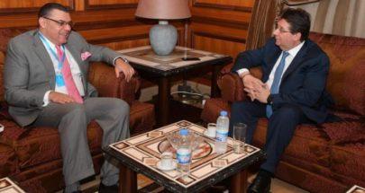 كنعان التقى السفير المصري: دعم المسار الانقاذي للبنان image