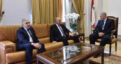 """كواليس لقاء فهمي بلدية بيروت.. ورقة بنود """"لم الشمل"""" image"""