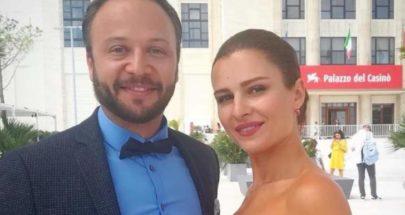 مكسيم خليل يعايد زوجته سوسن أرشيد بكلمات رومانسية image