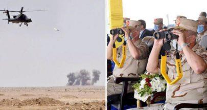 مناورة عسكرية مصرية قرب الحدود الليبية image