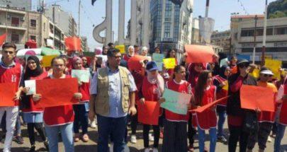 اعتصام امام قصر عدل طرابلس للمطالبة باطلاق الزين image