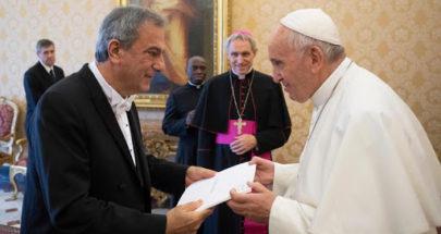 الخازن يوضح أسباب زيارة حتّي إلى الفاتيكان image
