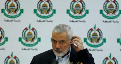 هنية لعباس: مستعدون لأي تحرك مشترك تحت قيادة الرئيس ضد الإعلان الثلاثي image