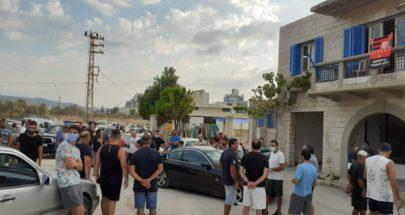 عدد من أهالي شكا أوقف تشغيل مضخات مياه تغذي قرى قضاء الكورة image