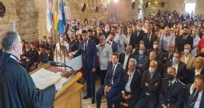 بطل يبكيه لبنان بأسره...مشمش ودعت ابنها الشهيد جو طانيوس نون image