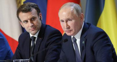 بوتين يؤكد لماكرون ضرورة تسوية مشاكل لبنان دون تدخل خارجي image