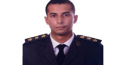 قيادة الجيش نعت النقيب أيمن نور الدين الذي استُشْهد جرّاءَ الانفجار image