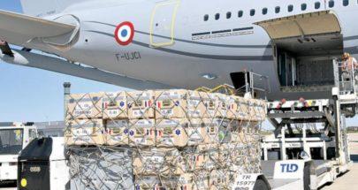 المساعدات العاجلة تبدأ في الوصول إلى لبنان image