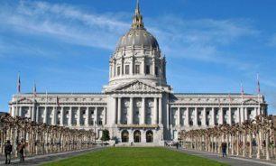 بالفيديو: سان فرانسيسكو ترفع العلم اللبناني على مبنى الـ City Hall تضامناً مع بيروت image